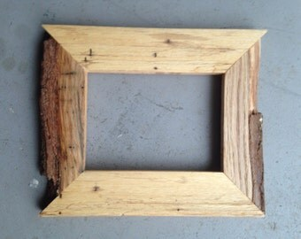 5x7 Oak Bark Frame