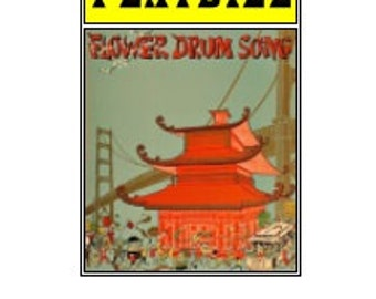 Theater / Show Charm - Playbill Play Bill - Flower Drum Song