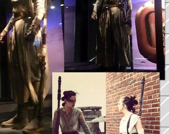 Rey's Staff from The Force Awakens, Cosplay Prop