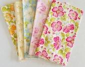 Blushing by Margot Languedoc fabric fat quarters ~ Fabric Destash ~ quilt fabric