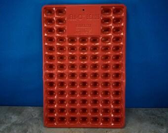 Vintage Jell-O Beans Red Plastic Mold, Jello Beans Mold, Jello Jigglers Mold,