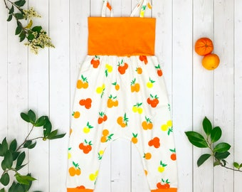 Clementine Harem Romper