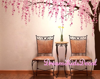 Wall Decals Cherry Blossom Branch Wall Decals Nursery Wall Decals Children  Girl Baby Wall Decals Wall Part 68