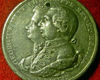 1809 George III original Grand National Jubilee Medal. BHM 664a