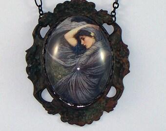 Merideth ~ John Waterhouse Portrait Necklace