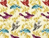 Extra 15% OFF 1 Yard Honor Roll by Ann Maria Horner for Free Spirit Chatterbox Guilded