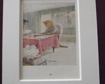 Original 1940's edition of Beatrix Potter's  'The Tale of Ginger & Pickles'.