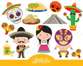 Mexico clipart - fiesta clipart - 16029