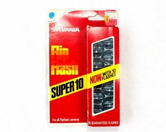 Unopened Complete Box Vintage Sylvana FlipFlash Flashbulbs