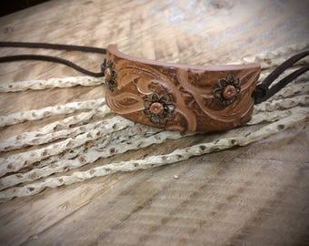 Polymer clay cuff bracelet, faux leather cuff bracelet, polymer clay cuff bangle, polymer clay jewelry, bangle, cuff bracelet, cuff bangle