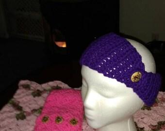 Purple headwarmer