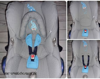 Car seat cover for Maxi COSI Pebble - replacement cover for car seat Cabriofix new