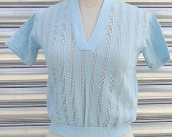 T-shirt in jersey vintage 60's made in Italy size S