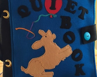 Playful Pup Quiet/Busy Book