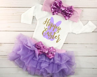 Baby first easter etsy hoppy easter babys first easter baby easter outfit baby girls first easter baby easter dress baby negle Gallery