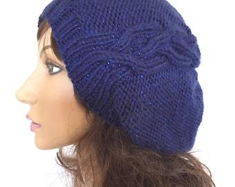 Slouchy Hat, Womens Slouchy Beanie, Slouchy Knit Hat, Women Winter Hat