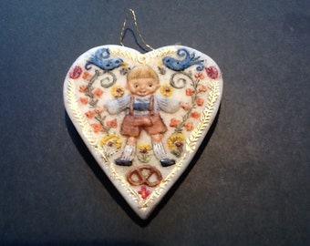German Boy Ornament