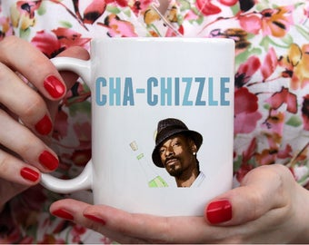 Cha-Chizzle-- Cha-Ching Coffee Cup- Funny Coffee Mug- First Etsy Sale Gift- Funny Etsy Seller Gift- Small Business Owner- WAHM gift