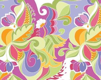 Riley Blake Designs - Extravaganza Floral PURPLE - C4642-PURPLE