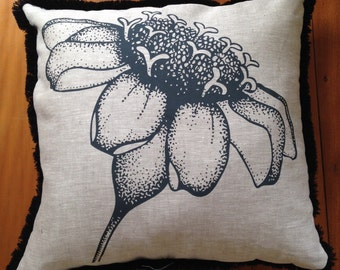 Flower power cushion cover (50x50cm)