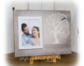 aunt and uncle thank you gift aunt gift uncle gift personalized tree for aunt and uncle aunt and uncle picture frame gift for 12x16