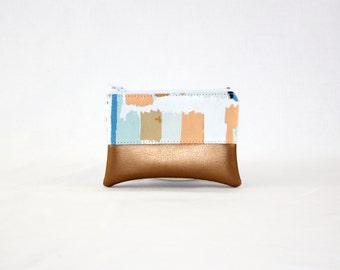 Mini bag - copper painting