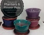 Medium custom pottery pla...