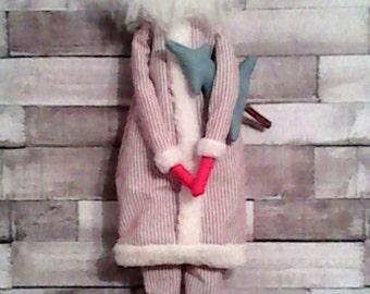 Tilda style hanging Santa