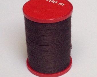 Crochet yarn, strength 50, Brown, 100m