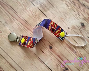 Pacifier Holder-Super Heroes