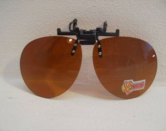 Blue Blockers Sunglasses Clip on 100 UV # 58