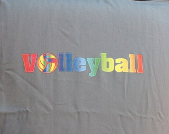 Volleyball Pillow Case, Volleyball Gift and Volleyball Decor