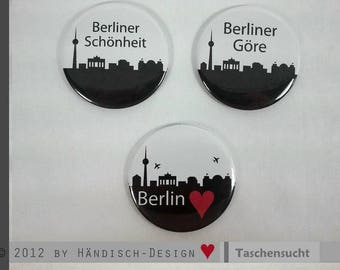 Berlin Pocket mirrors - motif of your choice