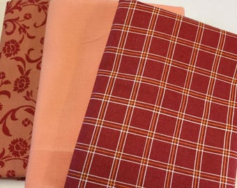 Fat Quarters Fabric Bundle  3 piece