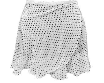 "Little Miss Dotti Ballet Skirt - TWO COLORS -  (Standard length 13""14"") Fits most sizes"