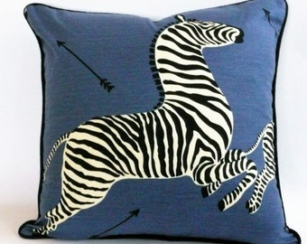 Scalamandre Zebras Pillow Cover