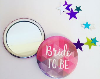 Personalised Hen Party Pocket Mirrors