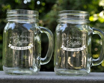 Personalized Mason Jar Mug (2)