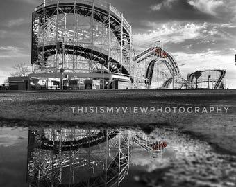 Coney Island cyclone, Original photograph 8x10