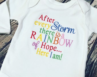 Rainbow Baby Embroidery Design File 4 x 4 -----DIGITIZING SERVICE-----