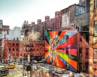 NYC Graffiti (Limited Edition Print)