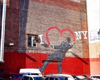 I Love NY (Limited Edition Print)