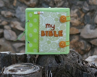 Bible Quiet book, 20x20cm, 10 pages