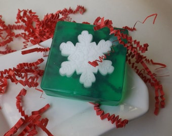 Christmas Stars Soaps - Decorative Christmas Gift Soap  Hostess Gift Christmas Soap  Holiday Decor, Stars soap, Stocking Stuffer