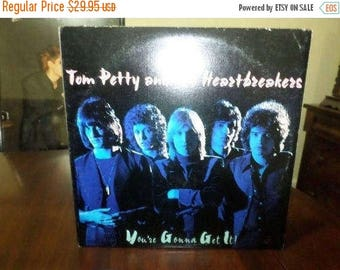 Save 30% Today Vintage 1978 Vinyl LP Record You're Gonna Get It Tom Petty and the Heartbreakers Excellent Condition 6434