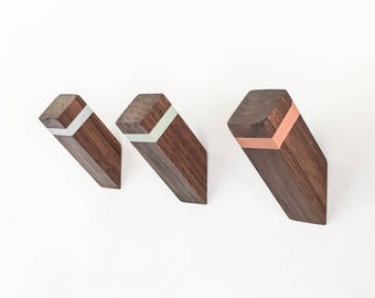 WallNuts - Modern Wall Hooks Featuring Mid-Century Inspired Colors.