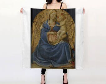Madonna and Child Scarf