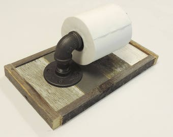 Wood toilet paper holder etsy Wood toilet paper holders