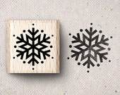 Stamp with snowflake Svea X 1,5 x 1,5 cm