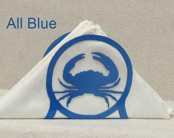 Blue Crab Napkin Letter Holder